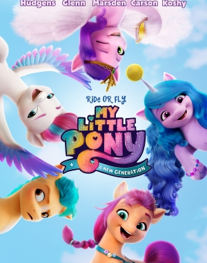 Download Full Movie HD- My Little Pony: A New Generation (2021) (Animation) Mp4